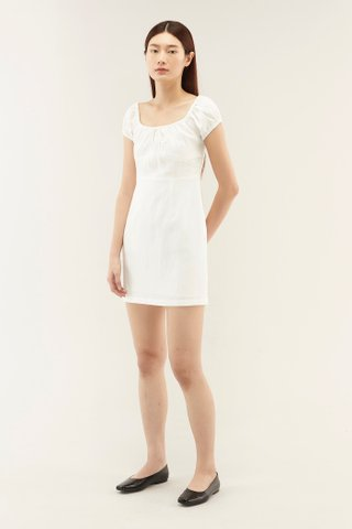 Verena Linen Mini Dress