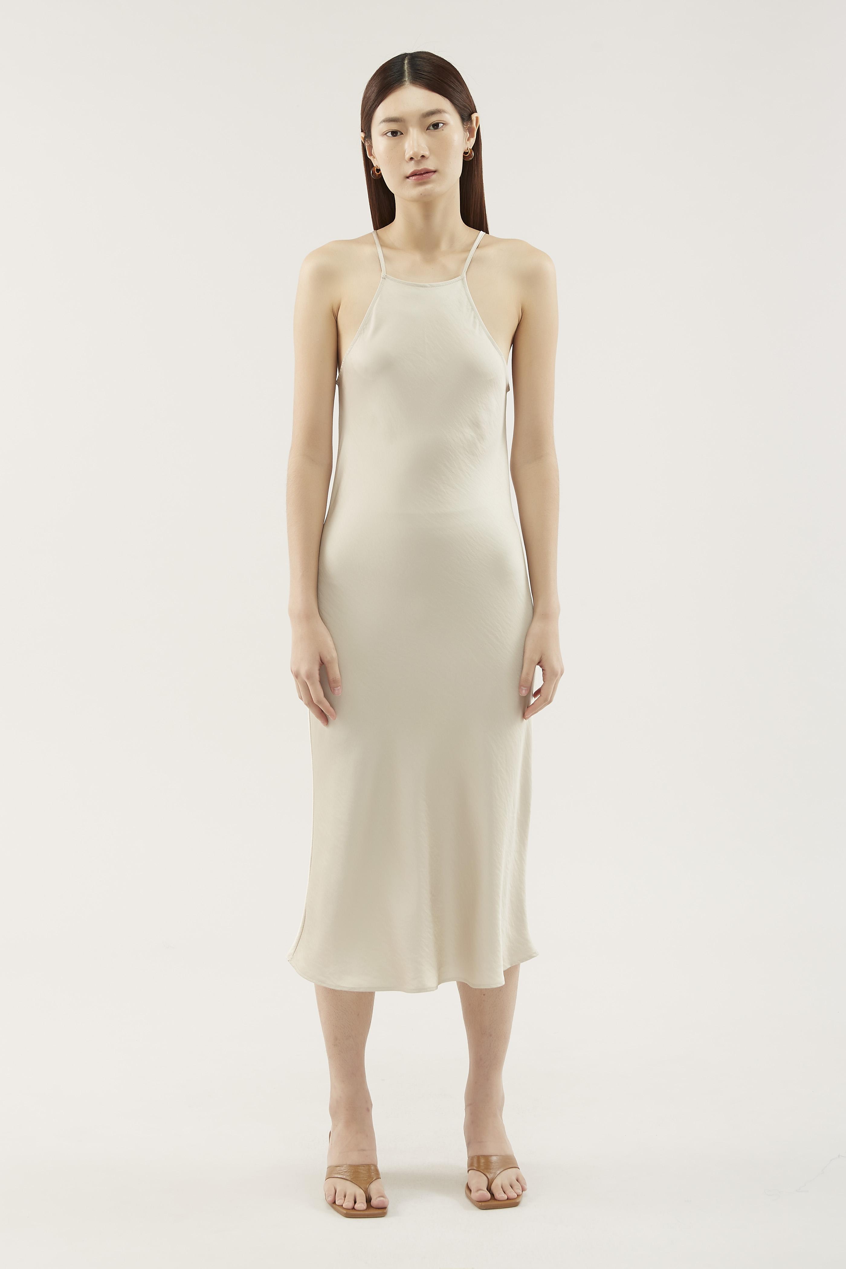 Vynna Square-neck Dress