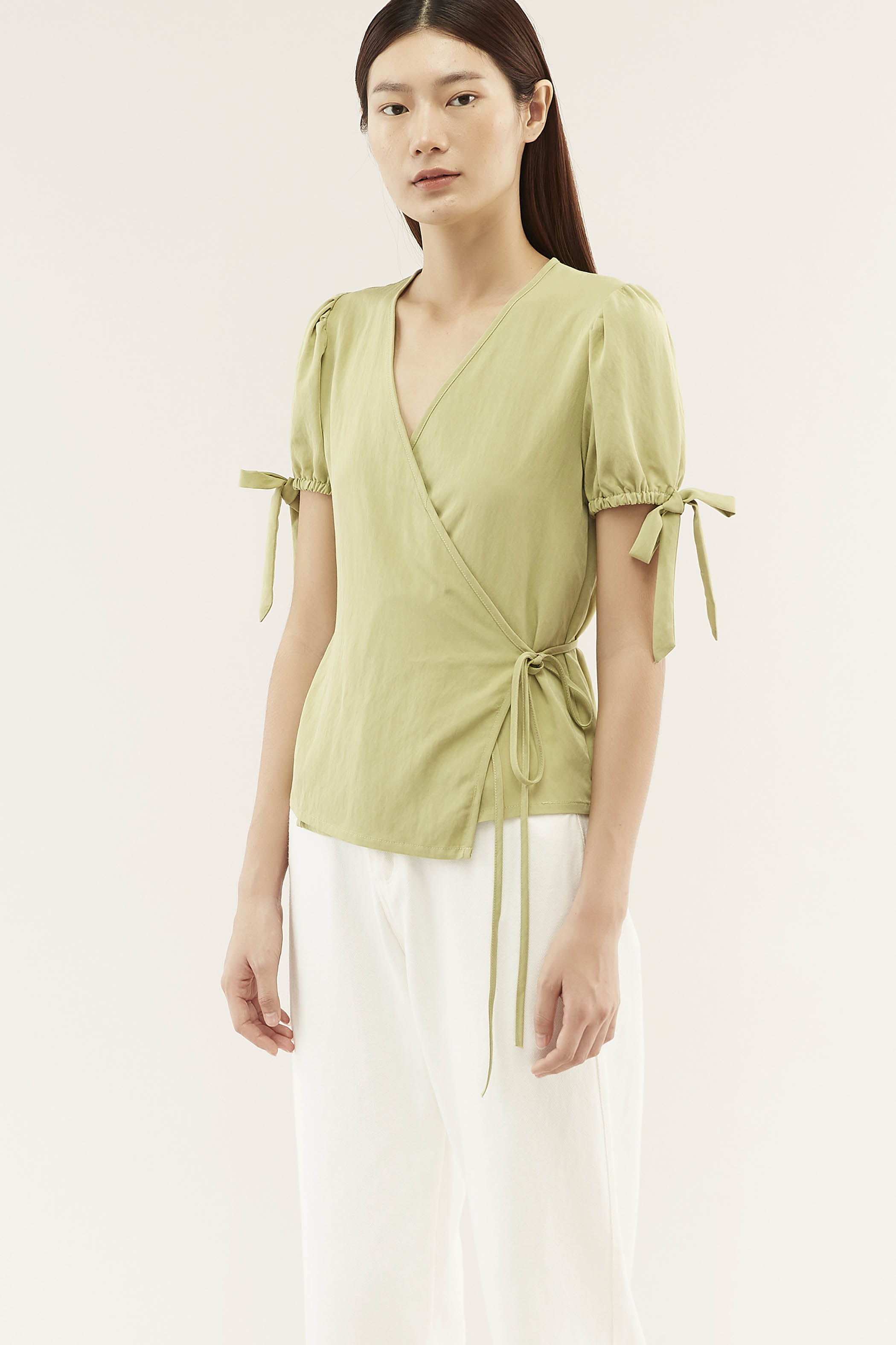 Nolen Wrap Blouse