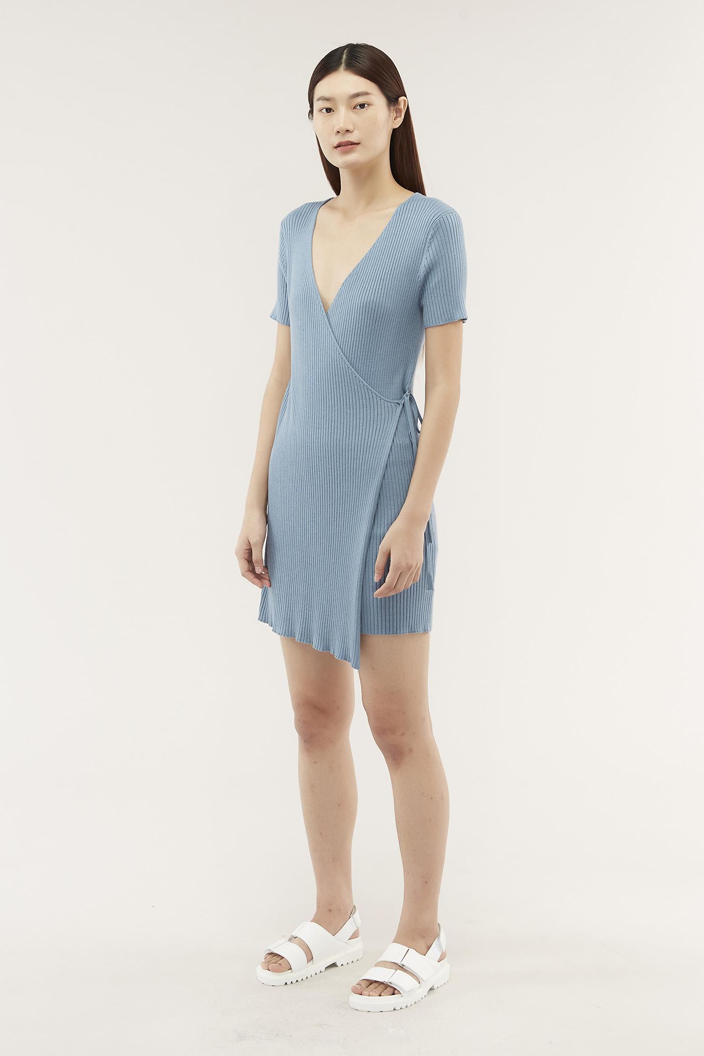 Jemila Wrap Dress