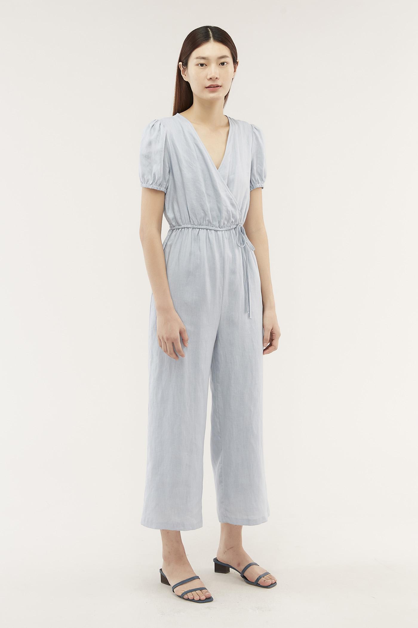 Tyanna Front-wrap Jumpsuit