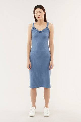 Cadie Frill-trim Dress
