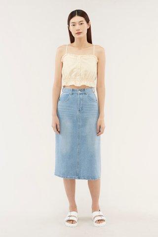 Derian Denim Skirt