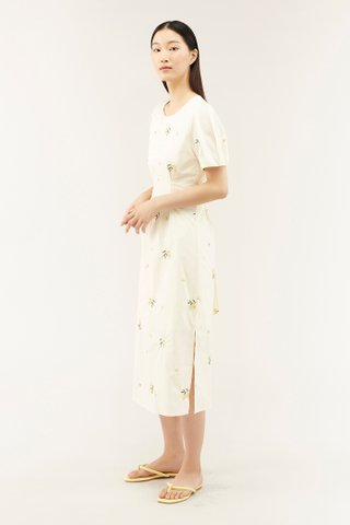 Kalmen Broderie Dress