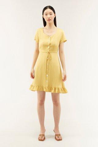 Annisa Frill-trimmed Dress