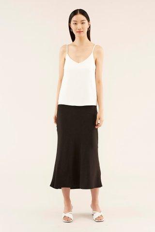 Blaine Bias-cut Skirt