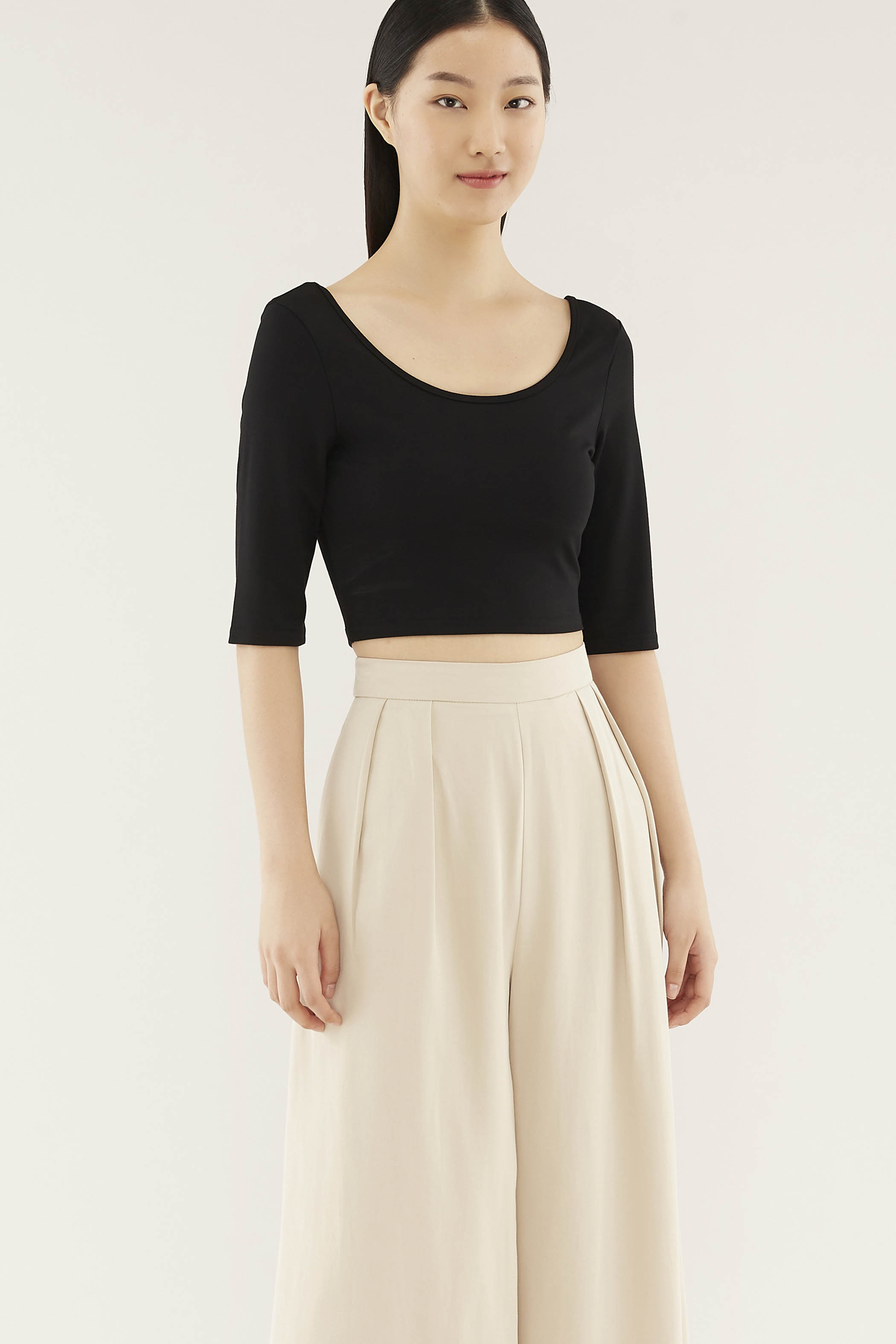 Naden Wide-neck Top