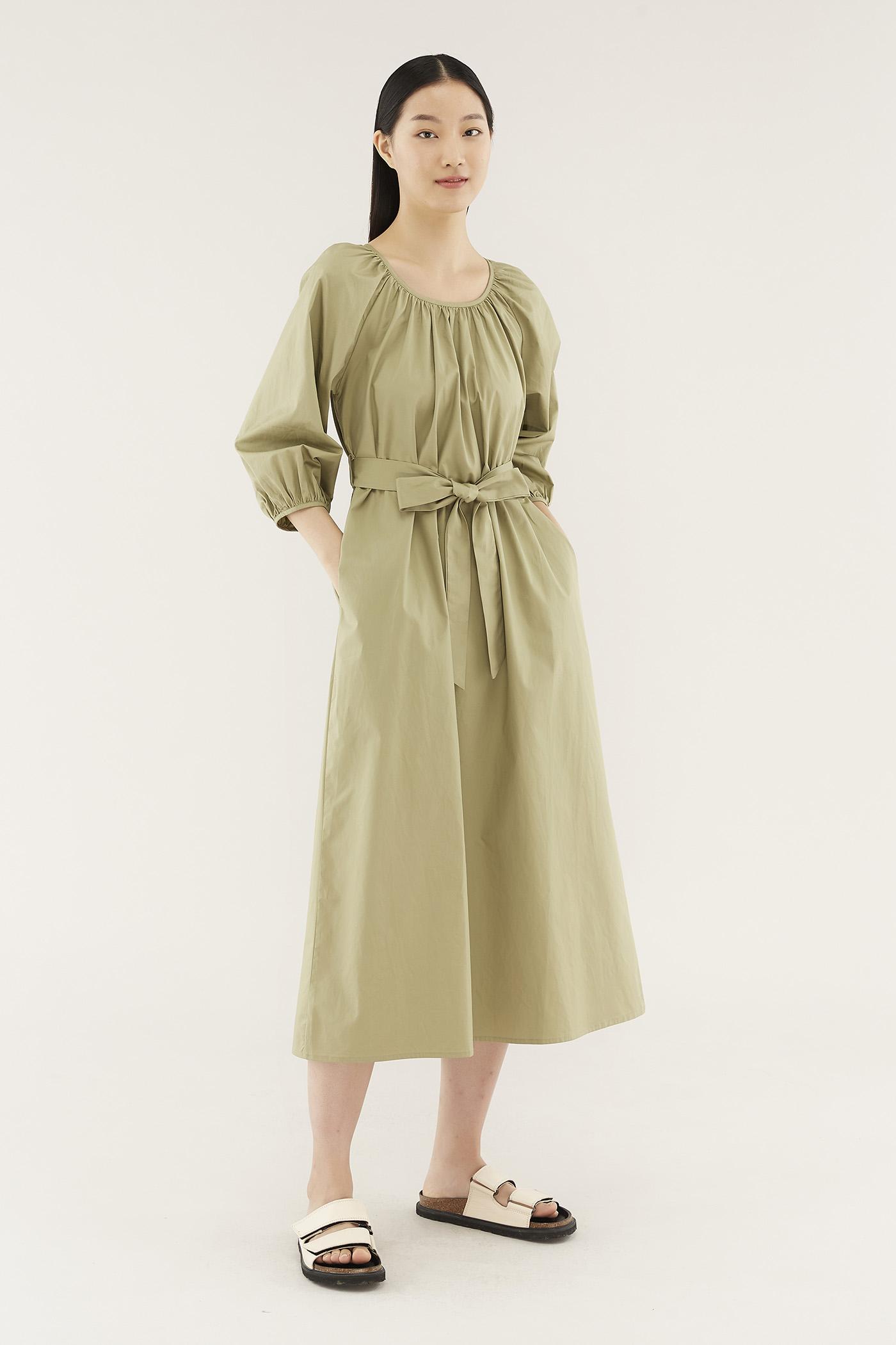 Weslee Long-sleeve Dress