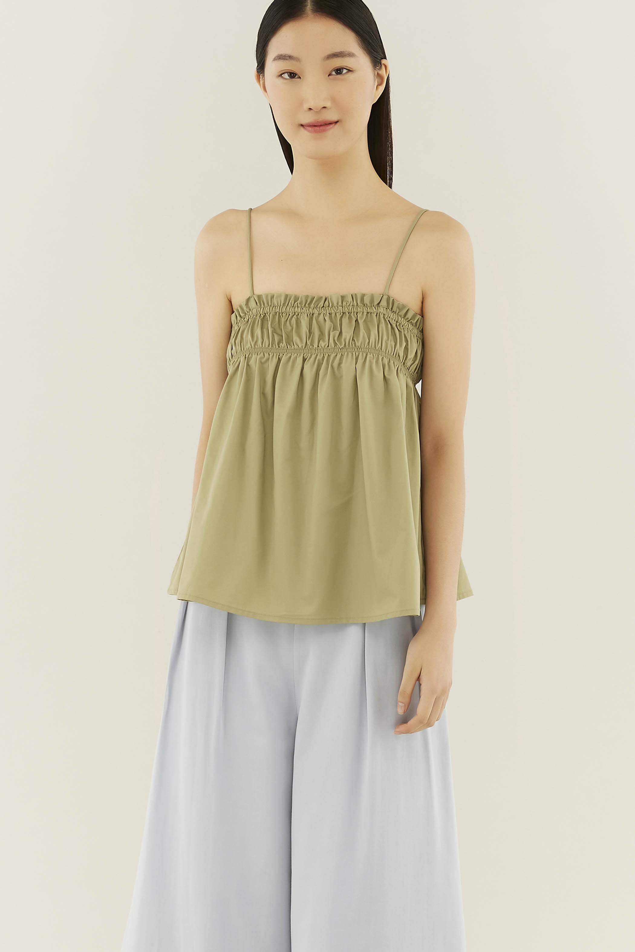 Calee Gathered Top
