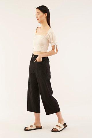 Erline Patch-pocket Pants