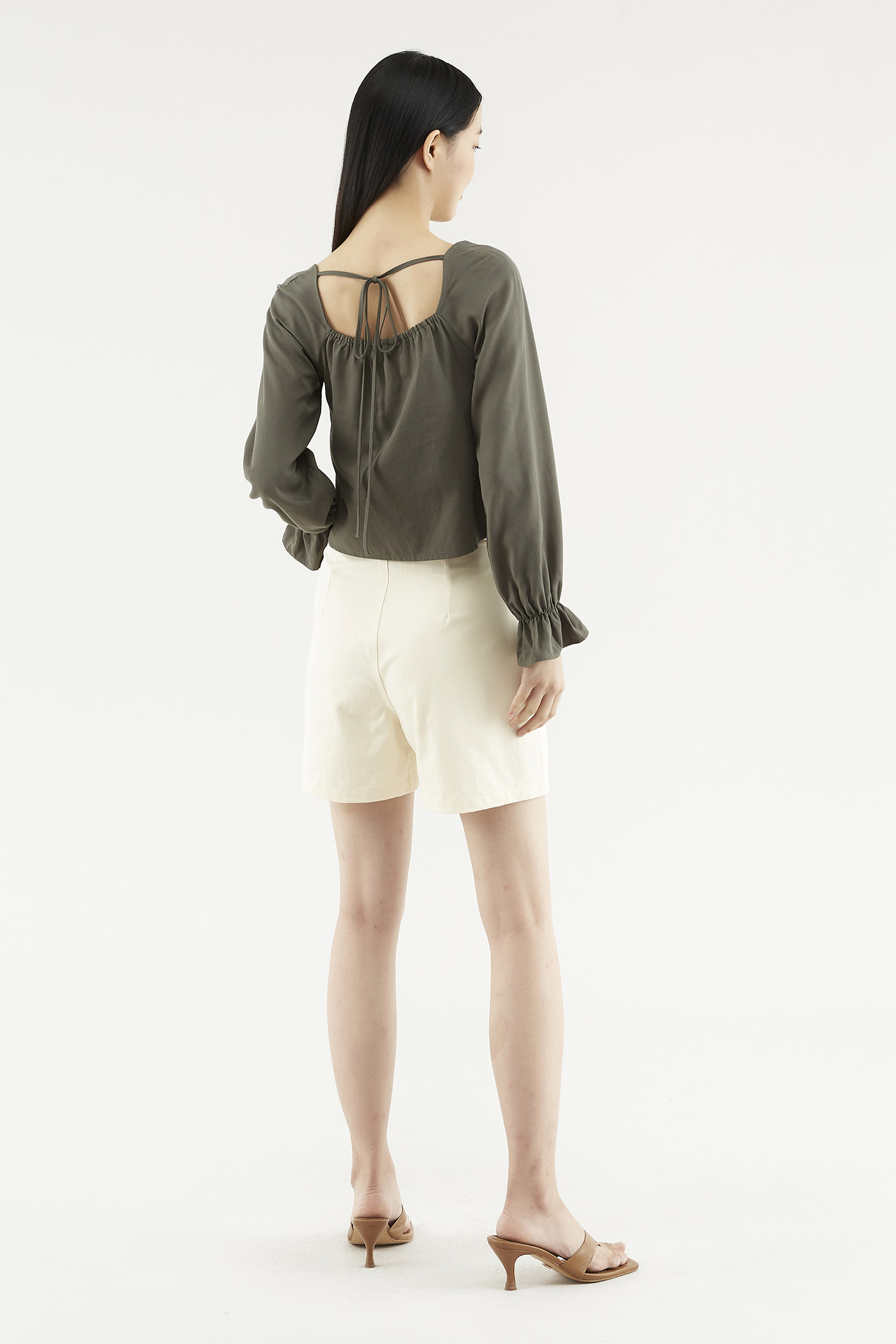 Davian Double-pleat Shorts