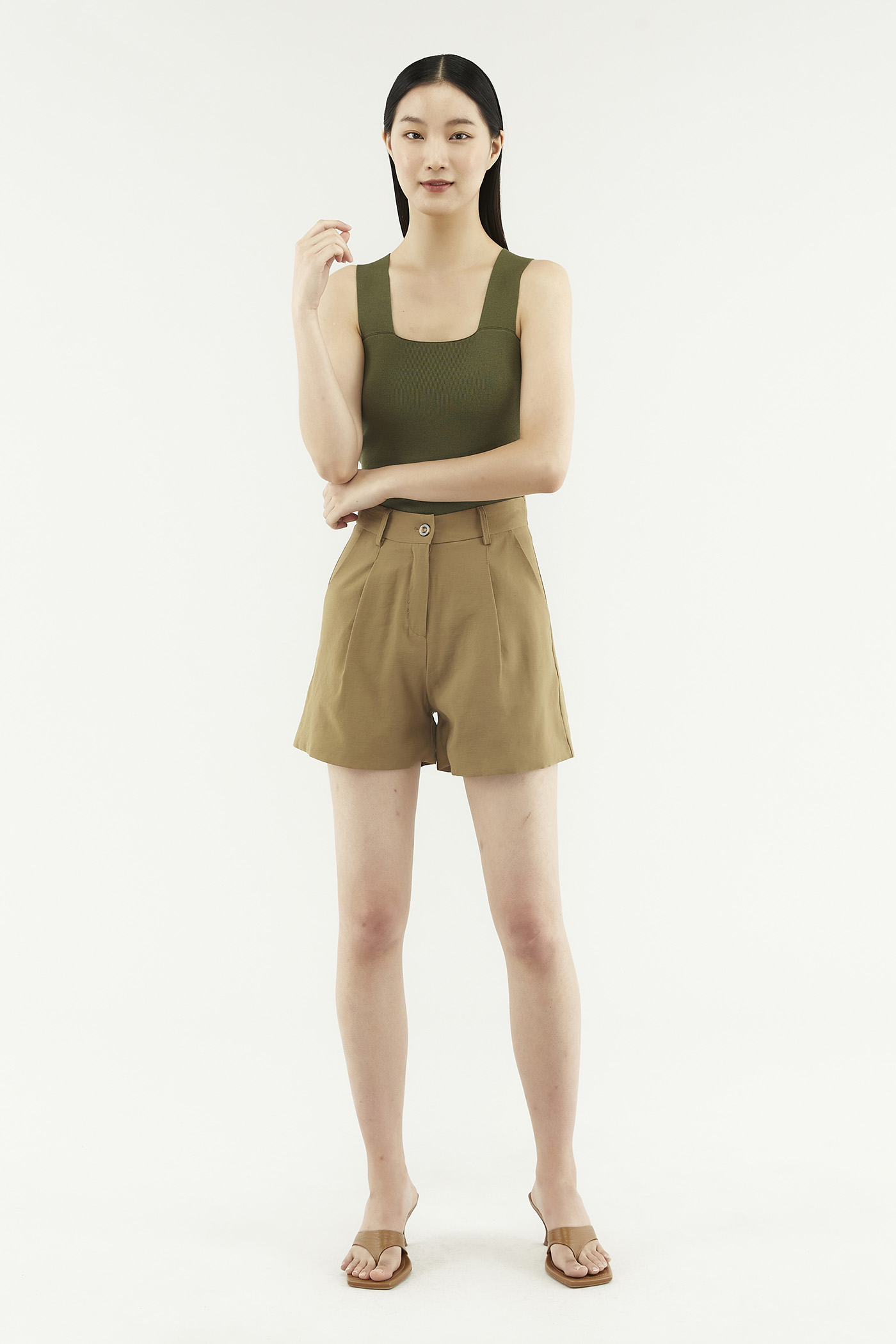 Tevan Slim-fit Shorts