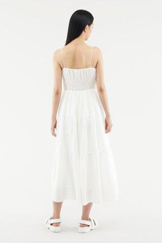 Kaleesa Shirred Maxi Dress