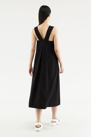 Ryanna Back-pleat Dress