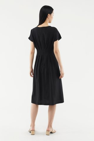 Avaleen Pintuck Shift Dress