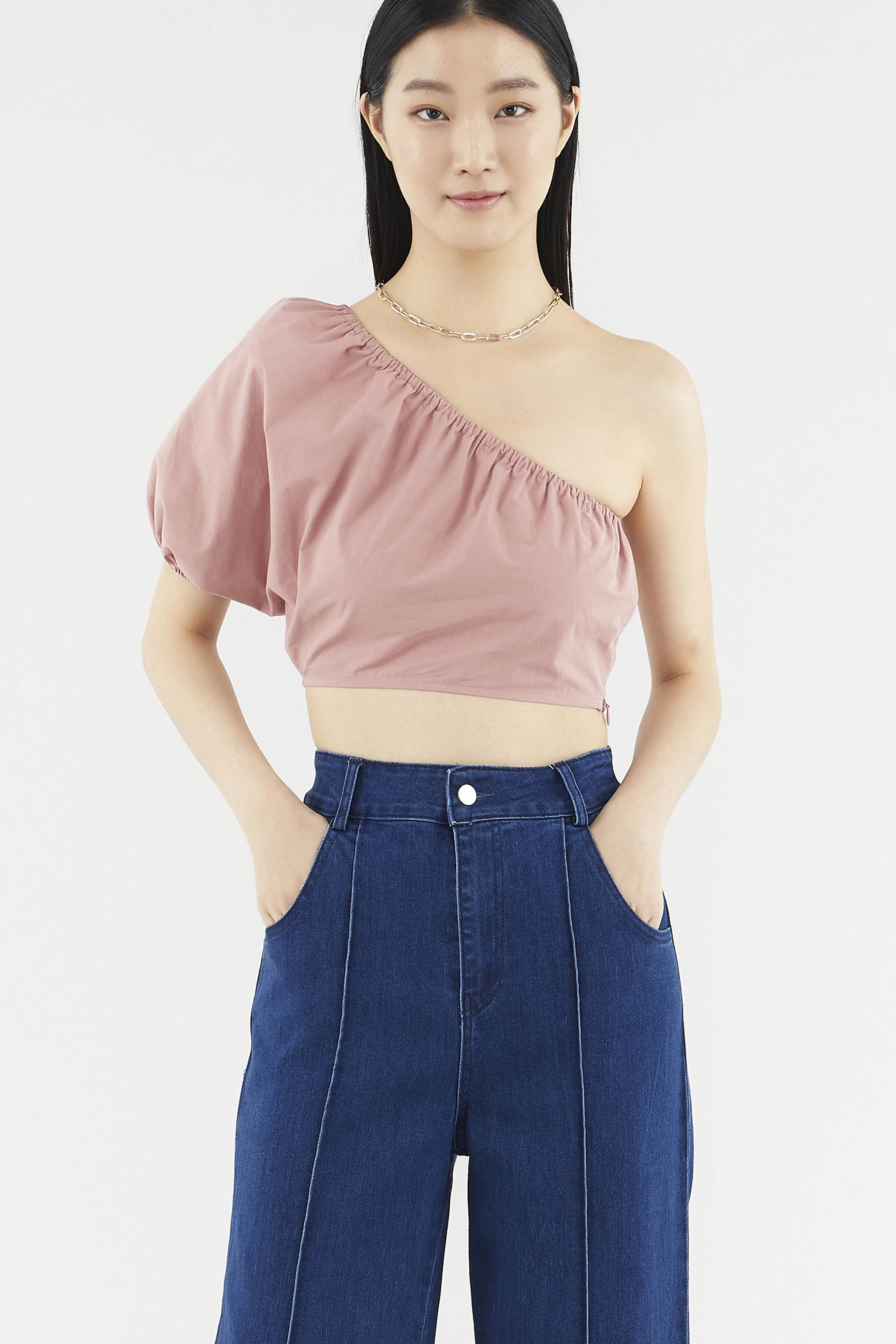Elaine One-shoulder Top