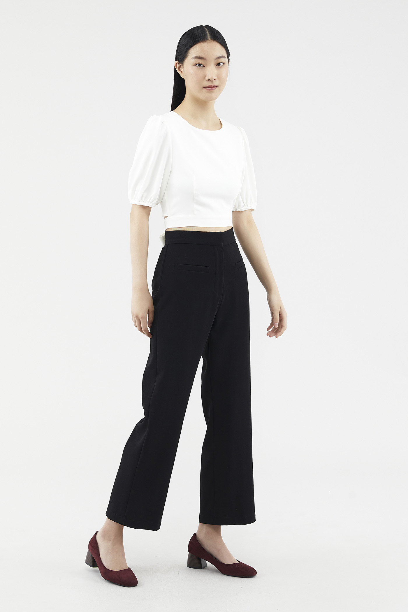 Delisha Straight-leg Pants