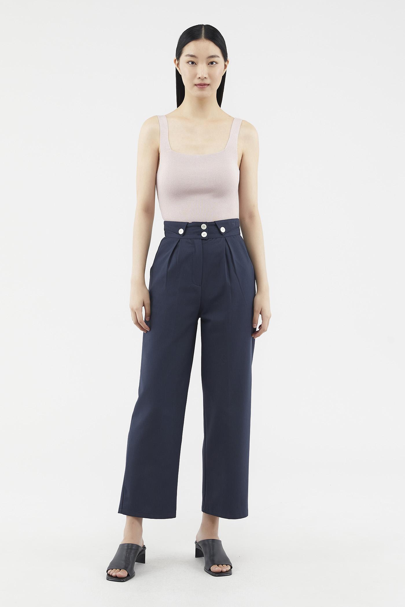 Carter Front-fold Pants