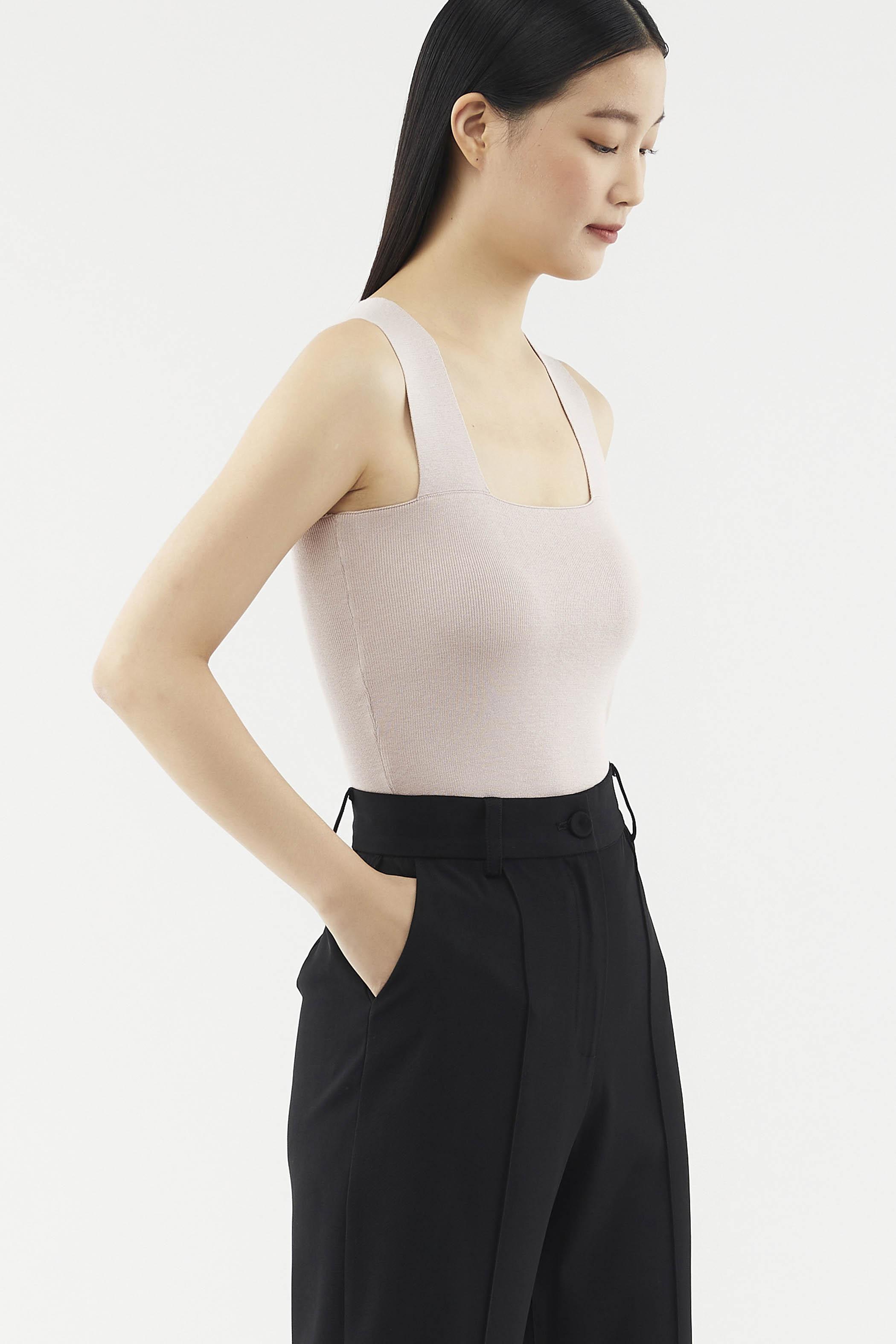 Lucita Square-neck Top