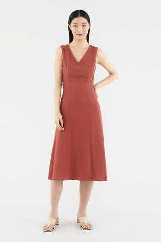 Jaelea V-neck Dress