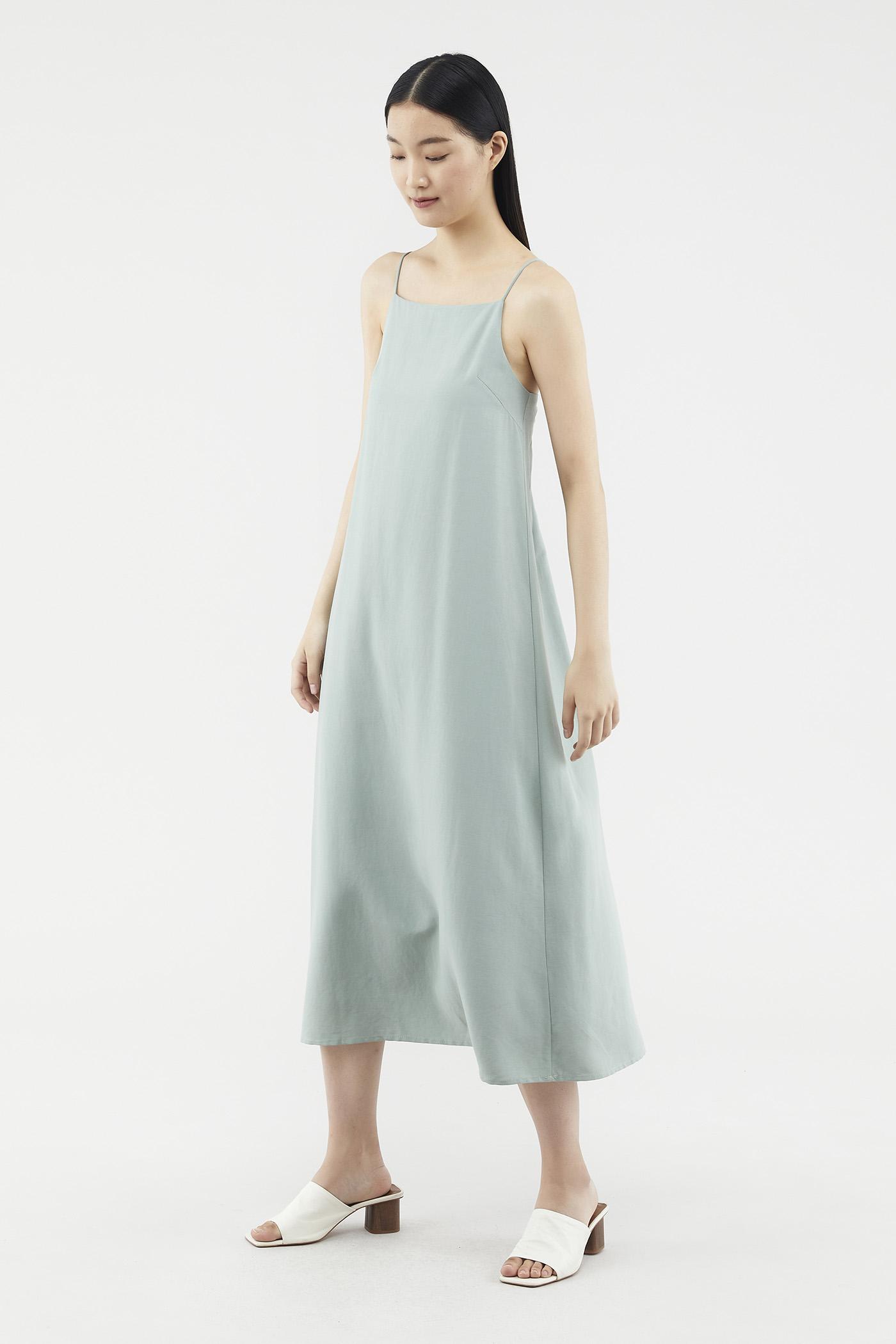 Zanessa Column Dress