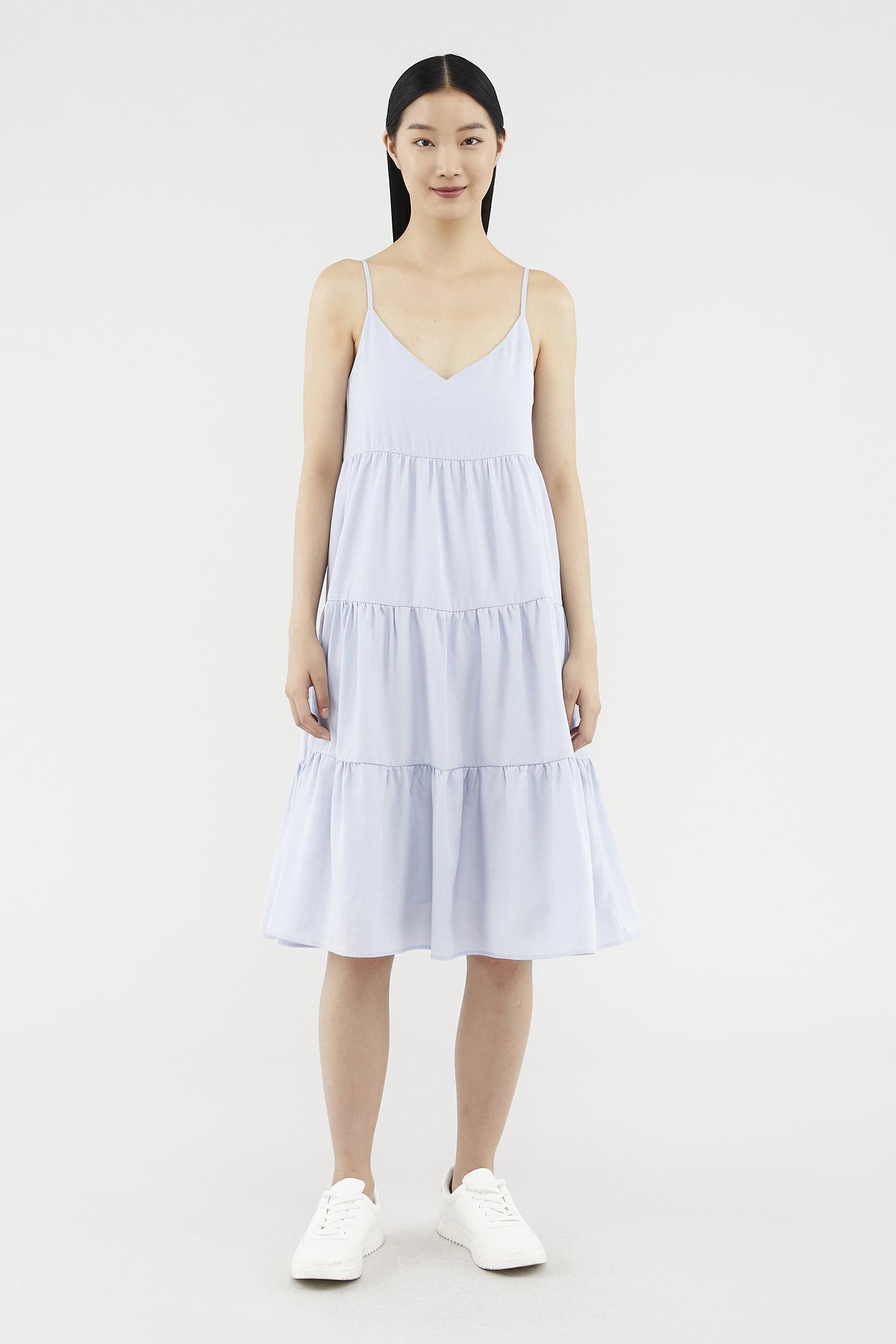 Raylene Tiered Midi Dress