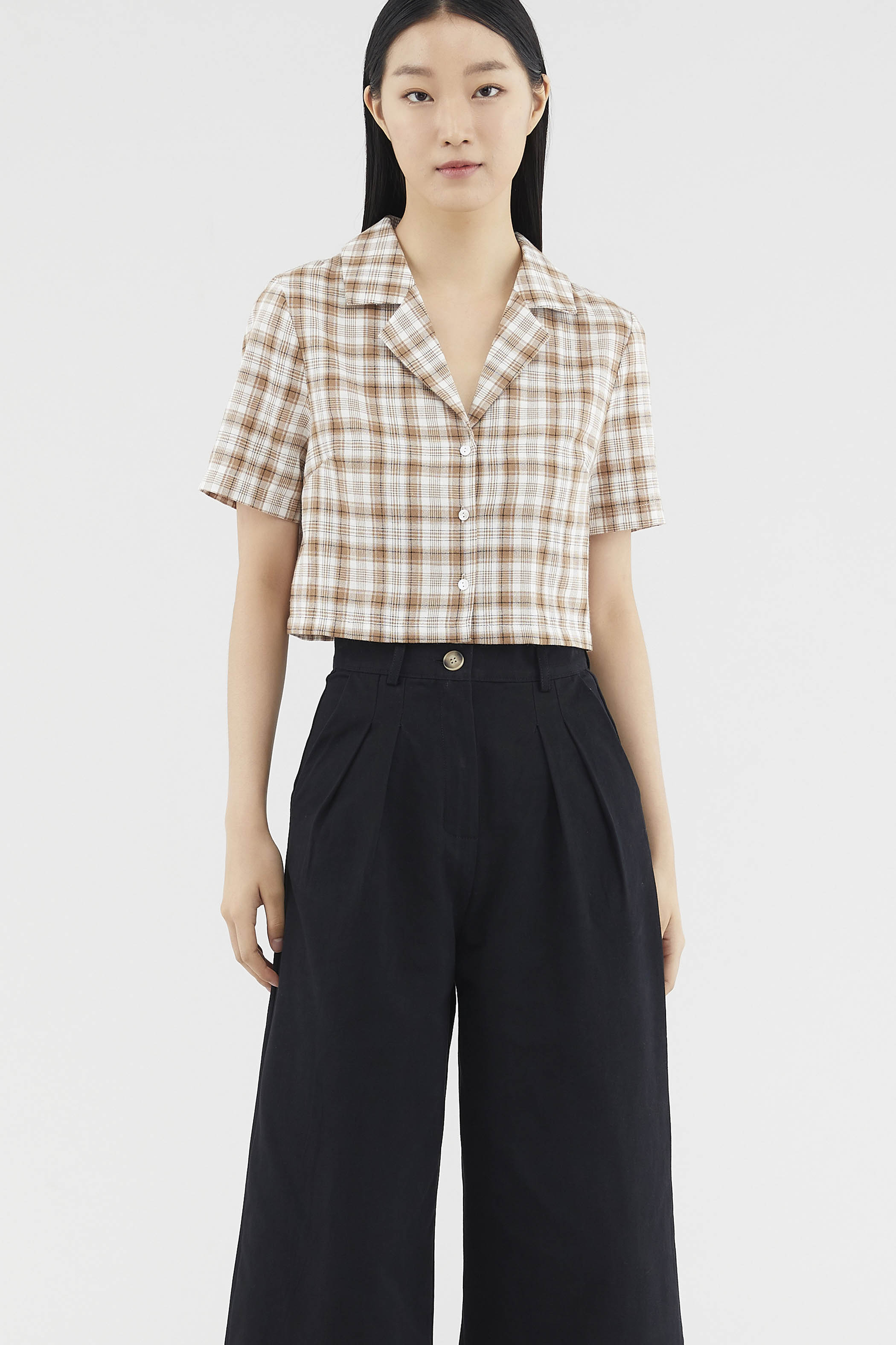 Neysa Crop Shirt